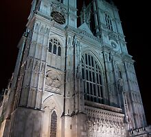Westminster Abbey - by Night by Jiggycreationz