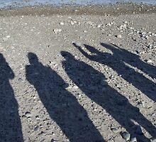 Shadows on the sand by irmajxxx