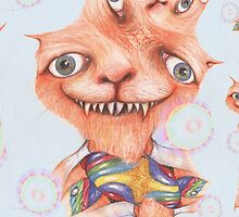 The Cheshire Cat 1 by Helena Wilsen - Saunders