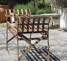 My Garden Bench by Lunaria
