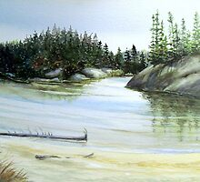 Hattie Cove - Pukaskwa National Park - Heron Bay Ontario Canada by loralea