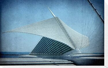 MAM...Milwaukee Art Museum...Wisconsin ©  by Dawn M. Becker
