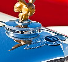 "1954 Bentley ""Custom Made"" Hood Ornament by Jill Reger"