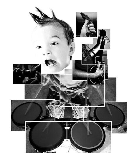He's a rock 'n rolla! by Ines Mihalji