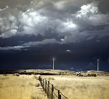 Canunda wind farm by Peter  Hughes