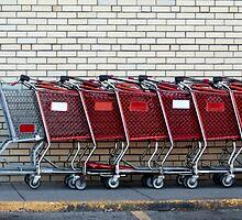 Shopping Carts by Joy  Rector
