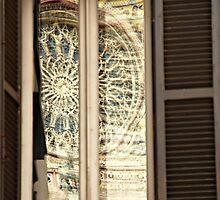Window into the Past-Orvieto, Italy by Deborah Downes