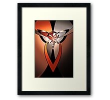 Tri-Form Abstract II Framed Print