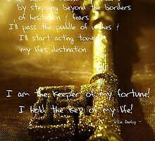 Affirmation - Holding the Key of Life by TriciaDanby