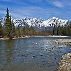 Wheaton River and Mt Tally-Ho by Yukondick