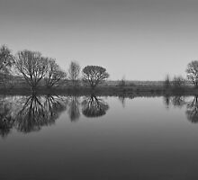 Lagoons Reflection by KWTImages