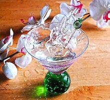 Martini Splash by Dawn Palmerley