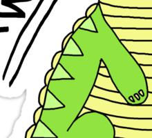 Dinosaurs Go Rawr! Sticker
