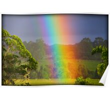 Touch the Rainbow Poster