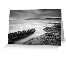 Stormy day, Bruny Island Tasmania Greeting Card