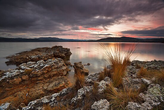 Abels Bay Sunset #4 by Chris Cobern