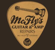 McFly's Repairs - Orange by rubyred