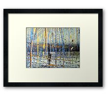 Reaching for the other side........ Framed Print