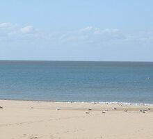 An English Beach by missmoneypenny
