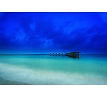 the old shipping pier Photographic Print