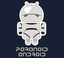 PARANOID ANDROID Kids Clothes