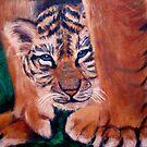 """""""Tiger Cub"""" by Gabriella Nilsson"""