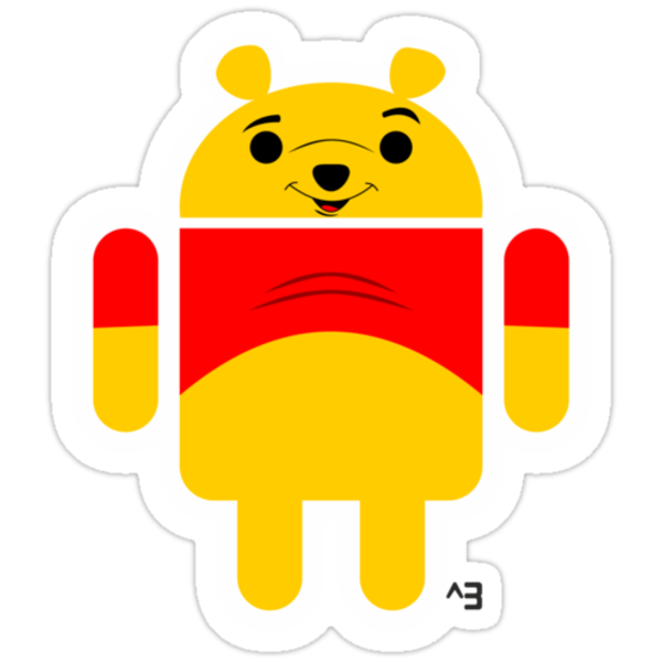 Winnie the Droid (no text) by cubik
