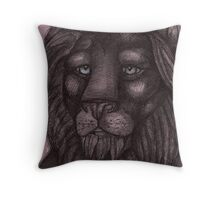 The Lion that Dreams Throw Pillow