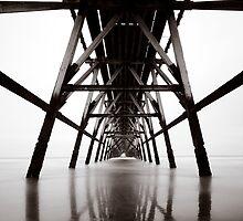 Steetley Pier (Quadtone) by PaulBradley