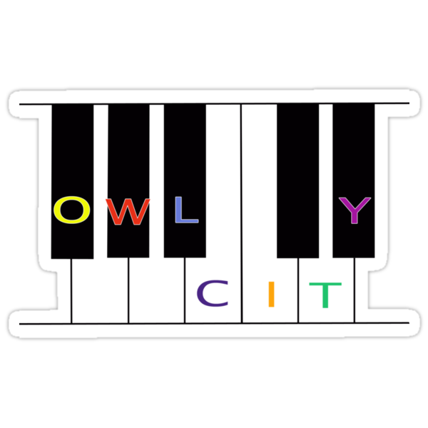 Owl City keyboard by Olga