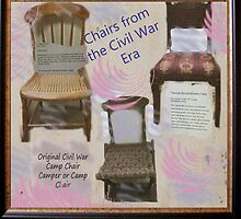 Chairs of the Civil War Era by Charldia
