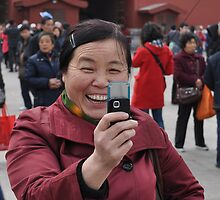 Conspicuous Photographer  by weijiahua