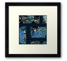 """Marbled Wall"" Framed Print"