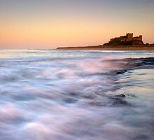 Bamburgh Castle by Michael Treloar