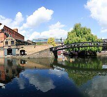 Camden Lock Panorama by John Gaffen