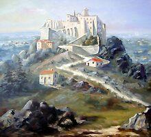 Convento Hieronimita em invocação a Nossa Senhora da Pena - Convento de São Jerónimo - Sintra - Portugal by PedroAtanasio
