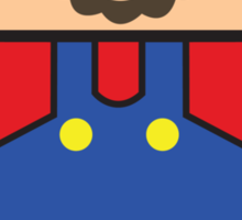Super Droid Bros. Mario Sticker