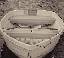 A row boat on the Exeter river by apsjphotography