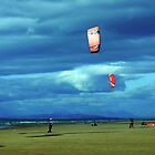 Kite Surfers by John Hare