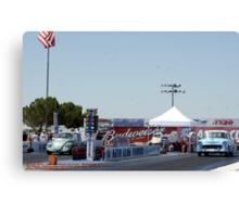 """Old School""; Fomoso Raceway, McFarland, CA Summit Series Racing Canvas Print"