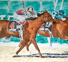 Kentucky Thoroughbred by 1illustlady