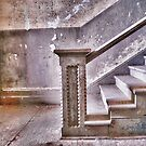 Alcatraz stairway by vincefoto
