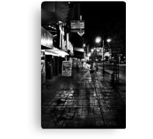 Reno Nevada at night Canvas Print