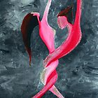 Lovers dance by Jazmine Saunders