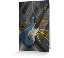 Musical Montage Greeting Card