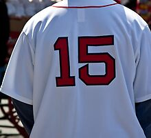 Dustin Pedroia #15 Boston Red Sox by apsjphotography