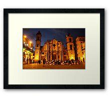 Havana Cathedral Framed Print