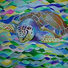Loggerhead Turtle by taiche