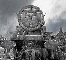 Locomotive by Smudgers Art
