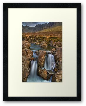 Fairy Pools (5) by Karl Williams